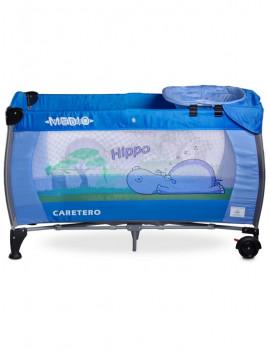 Cestovná postieľka CARETERO Medio blue