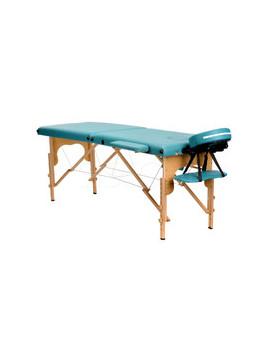 Stół, łóżko do masażu 2 segmentowe Pistacjowe